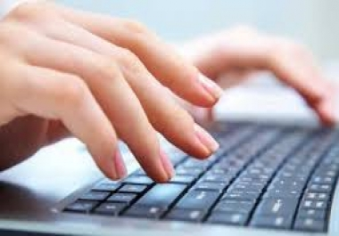 Do Web Research, Data Entry, Data Processing