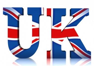 Give 50,000 UK Website Traffic Visitors