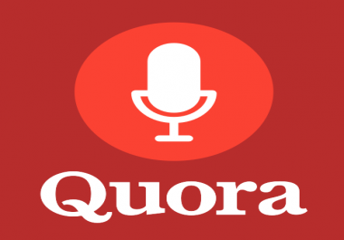 provide your website with Real back link on 30 quora answer for $15