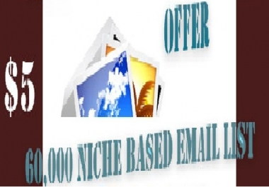give you 350,000 niche based clean email lists
