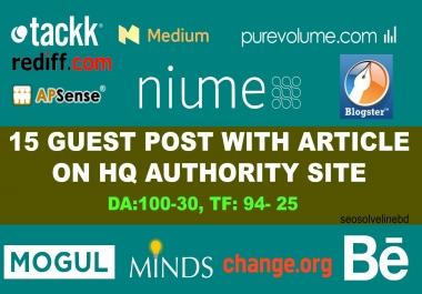 Write & Publish Guest Post On HQ Trust Flow Authority Site