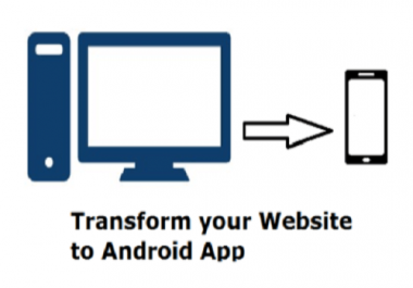 turn your website to android app