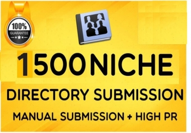 do 1500 Niche Directory Submission Manually
