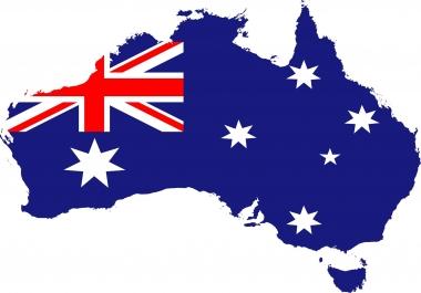 5000 AUSTRALIA Verified website Traffic