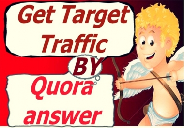 Give You Real traffic by 50 Quora answer backlink