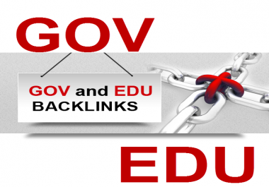 Provice you 100 .edu and .gov high authority backlinks