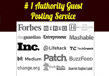 Authority Guest Posting Service with 500+ word Premium Article