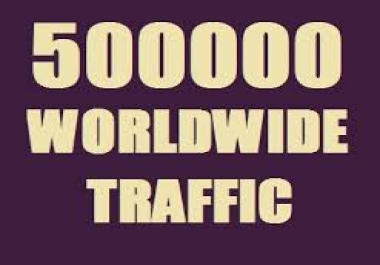 500,000 Visitors to Any Link