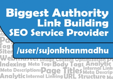 Biggest Authority Link Building