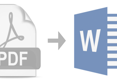 convert PDF to word and vice versa
