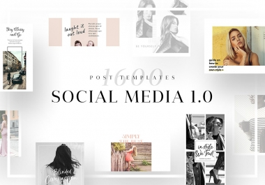 i Give you Ultimate Social Media Template Bundle