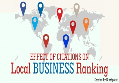 Do 35 Google maps or local listings or Business listings