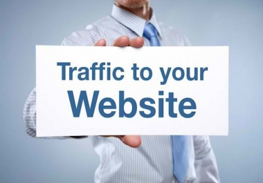 give 100k real traffic for your website