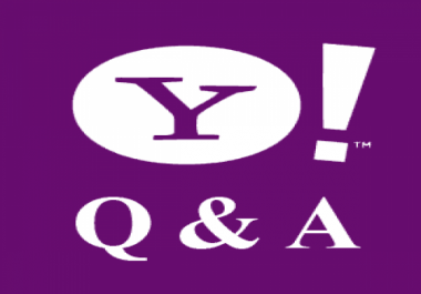 Manually create 25 Yahoo (Level 3+) Answer Do-Follow Backlinks