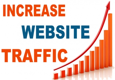 Drive 1000000 (1M) Real visitors mostly U S A with Low bounce rate traffic
