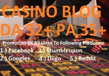 Guest Posting On Casino Blogs