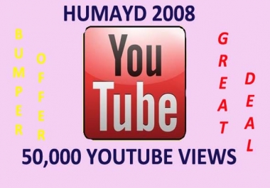 increase 50,000++ real high retention views