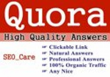 Promote your website with HQ 25 Quora answers