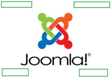 Create  a professional SEO friendly website using  Joomla