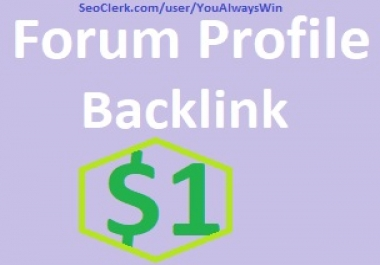 660+ HQ Forum Profile Backlinks High PA DA Sites