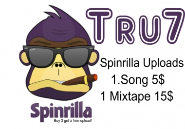 Spinrilla Uploads singles and mixtapes