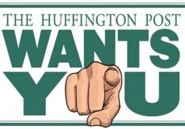 Publish Guest Post On Huffingtonpost