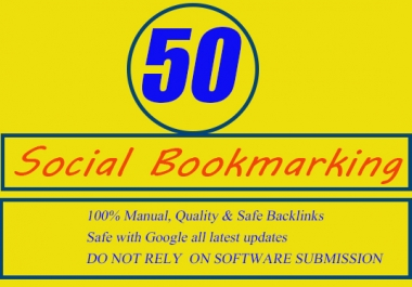 submit your URL top 50 social bookmarking sites