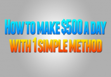 Earn money Online Without investment 500 Dollars a Day