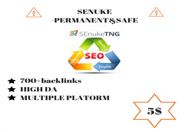 Safe rank with senuke complete package