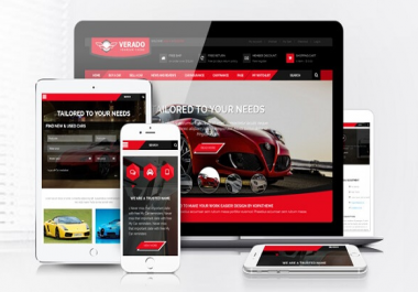I can give you Responsive Car Dealership Premium WordPress Theme
