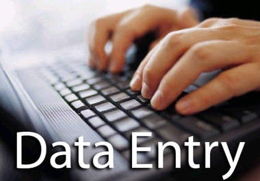 5 pages data entry complete within 1 hr