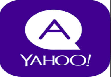 i can do 25 unique and long yahoo answer