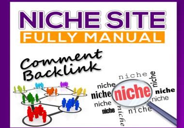 Do 25 High Trust Flow Niche Relevant Blog posts