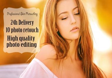 Professional Skin Retouching Photoshop