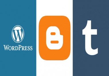 GiveYou Expired Web 20 Wordpress Blogspot Tumblr In 24 Hours