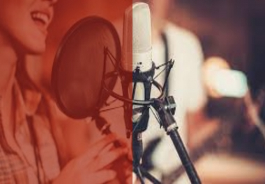 I record a studio quality Indian Female English voice of 400 words