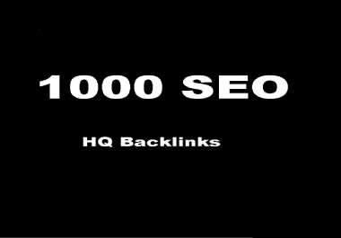 submit  1000 High PR Wiki Backlinks and rank higher on Google.
