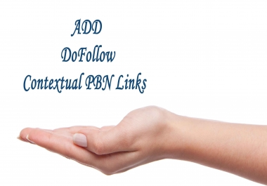 Add 14 DoFollow Contextual PBN links to our massive 1000+ PBN sites network