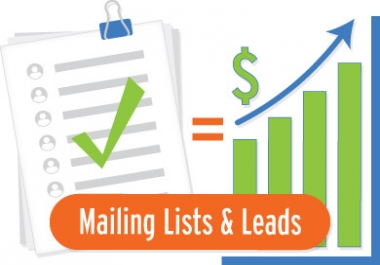 100k leaser targeted niche related email and phone number clean verifid and fresh list