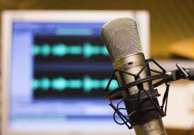 GET YOUR VOICE OVER IN AMERICAN ENGLISH or GERMAN