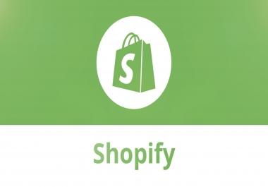 Create a Beautiful Shopify Store