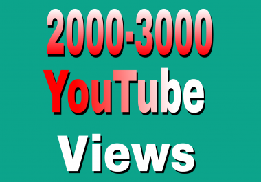 Safe 1,000 To 15,00 High Retention YouTube Views Refill Guaranteed