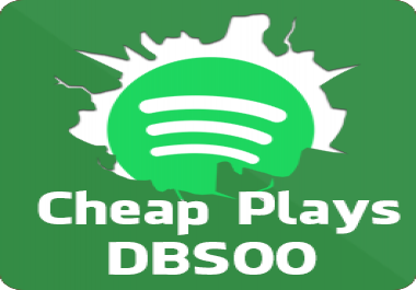 5000 Spotify Plays! Cheapest Spotify Play BEST service here! HQ Spotify Plays