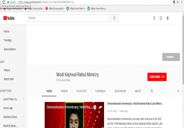 Add Manually 110+ Youtube SUBSCRIBERS