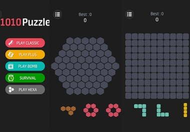 Do 1010 Puzzle Game with Unity3D