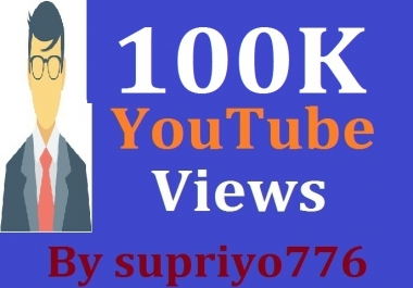 10,0000 Or 100K+ HR YouTube Views + 1050 Extra Bonus Likes Fast Delivery