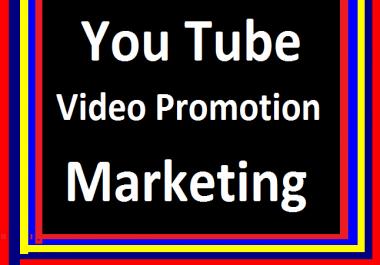 YouTube Video Marketing & Social Media Promotion