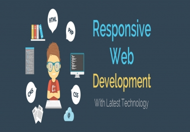 develop a website as your requirement