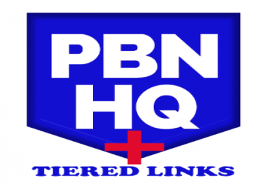 Rank your keywords on Google SERP 1 with multi tiered links plus PBNs