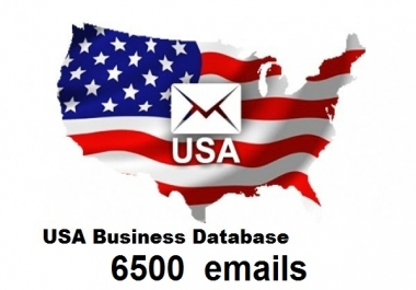 6500 usa business email for $5